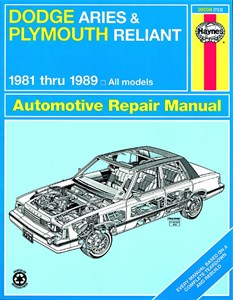 Bildel: Haynes Reparationshandbok, Dodge Aries & Plymouth Reliant