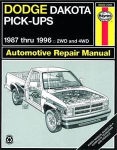 Bildel: Haynes Reparationshandbok, Dodge Dakota Pick-up, Universal