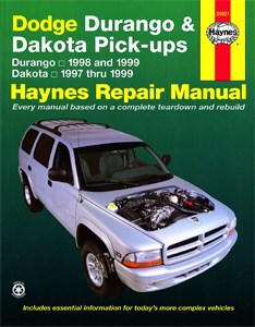 Haynes Reparationshandbok, Dodge Durango & Dakota
