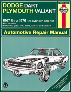 Haynes Reparationshandbok, Dodge Dart/Plymouth Valiant