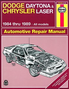 Haynes Reparationshandbok, Dodge Daytona & Chrysler Laser