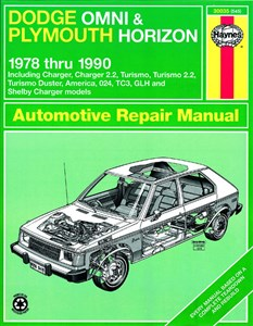 Haynes Reparationshandbok, Dodge Omni/Plymouth Horizon