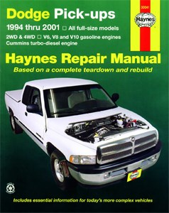 Haynes Reparationshandbok, Dodge Pick-ups
