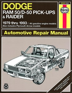 Bildel: Haynes Reparationshandbok, Dodge D50 Pick-up & Raider