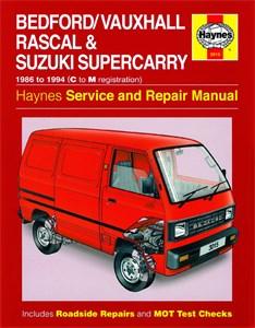 Haynes Reparationshandbok, Bedford/Vauxhall Rascal, Bedford/Vauxhall Rascal & Suzuki Supercarry