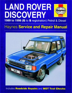 Haynes Reparationshandbok, Land Rover Discovery, Land Rover Discovery Petrol & Diesel
