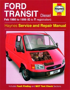 Haynes Reparationshandbok, Ford Transit Diesel