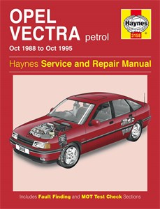 Haynes Reparationshandbok, Opel Vectra Petrol