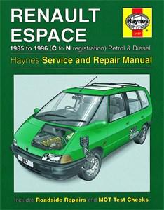 Haynes Reparationshandbok, Renault Espace Petrol & Diesel