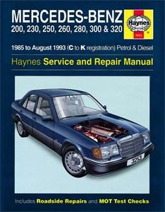 Haynes Reparationshandbok, Mercedes-Benz 124 Series, Mercedes-Benz 124 Series Petrol & Diesel