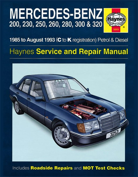 Haynes reparationshandbok mercedes benz 124 series for Mercedes benz parts and accessories online
