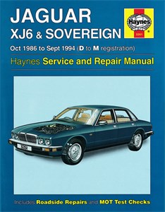 Haynes Reparationshandbok, Jaguar XJ6 & Sovereign