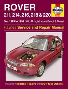 Haynes Reparationshandbok, Rover 211, 214, 216, 218 & 220, Rover 211, 214, 216, 218 & 220 Petrol & Diesel