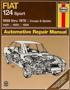 Haynes Reparationshandbok, Fiat 124 Sport/Spider
