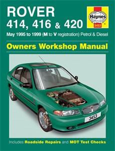 Haynes Reparationshandbok, Rover 414, 416 & 420, Rover 414, 416 & 420 Petrol & Diesel