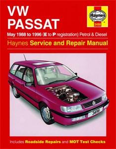 Haynes Reparationshandbok, VW Passat 4-cyl Petrol & Diesel, Universal
