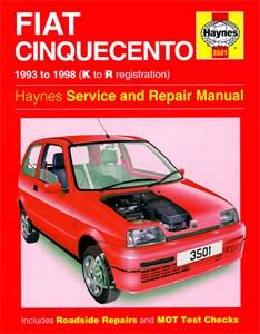 Haynes Reparationshandbok, Fiat Cinquecento, Universal