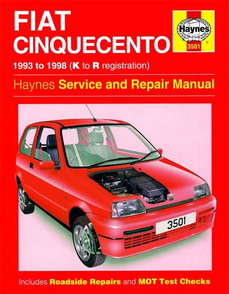 Haynes Reparationshandbok  Fiat Cinquecento  Universal - 28 35  U20ac - Skruvat Com