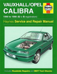 Haynes Reparationshandbok, Vauxhall/Opel Calibra