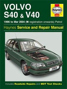 Haynes Reparationshandbok, Volvo S40 & V40 Petrol