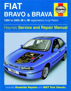 Haynes Reparationshandbok, Fiat Bravo & Brava Petrol