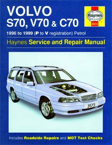 Reservdel:Volvo C70 Haynes Reparationshandbok, Volvo S70, V70 & C70 Petrol, Universal