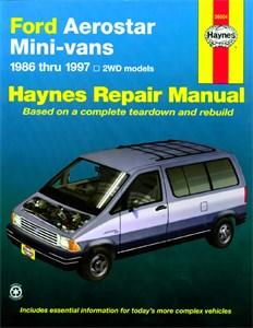 Haynes Reparationshandbok, Ford Aerostar Mini Van