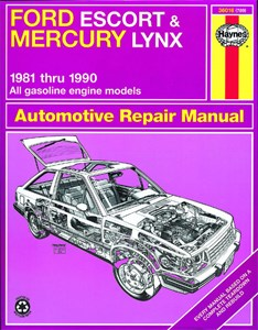Haynes Reparationshandbok, Ford Escort & Mercury Lynx, Universal
