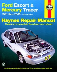Haynes Reparationshandbok, Ford Escort & Mercury Tracer, Universal