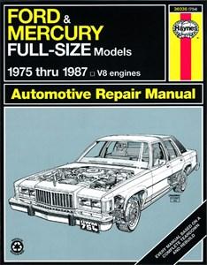 Haynes Reparationshandbok, Ford & Mercury Full-Size Sedans, Universal