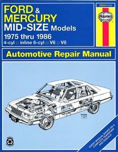 Haynes Reparationshandbok, Ford & Mercury Mid-Size Sedans, Universal
