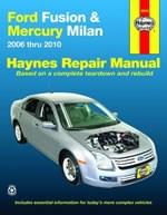 Haynes Reparationshandbok, Ford Fusion & Mercury Milan, Universal