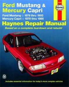 Haynes Reparationshandbok, Ford Mustang/Mercury Capri