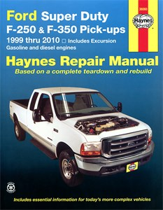 Haynes Reparationshandbok, Ford Super Duty F-250 & F-350, Ford Super Duty F-250 & F-350 Pick-ups