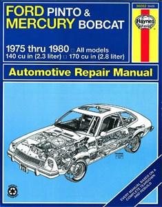 Haynes Reparationshandbok, Ford Pinto & Mercury Bobcat, Universal