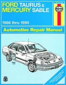 Haynes Reparationshandbok, Ford Taurus & Mercury Sable