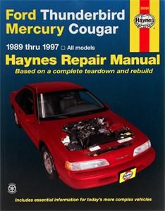 Haynes Reparationshandbok, Ford Thunderbird & Mercury Cougar