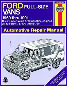 Haynes Reparationshandbok, Ford Full-Size Vans, Universal