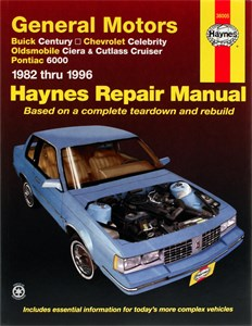 Haynes Reparationshandbok, GM: Century, Celebrity, Ciera, Universal