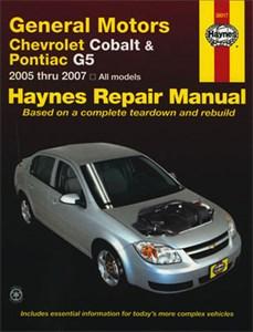 Haynes Reparationshandbok, GM: Chevrolet Cobalt & Pontiac G5, Universal