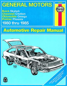 Haynes Reparationshandbok, GM: Skylark, Citation, Omega, GM: Skylark, Citation, Omega, Phoenix