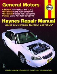 Haynes Reparationshandbok, GM: Malibu, Alero, Cutlass, GM: Malibu, Alero, Cutlass & Grand Am