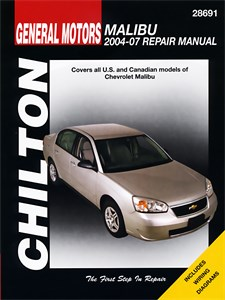 Haynes Reparationshandbok, GM: Chevrolet Malibu