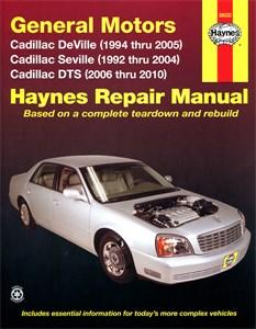 Haynes Reparationshandbok, GM Cadillac Deville, Seville, DTS, Universal