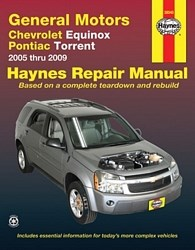 Haynes Reparationshandbok, Chevrolet Equinox Pontiac Torrent, GM: Chevrolet Equinox & Pontiac Torrent