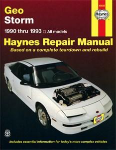 Haynes Reparationshandbok, Geo Storm