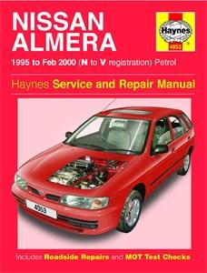 Haynes Reparationshandbok, Nissan Almera Petrol, Universal