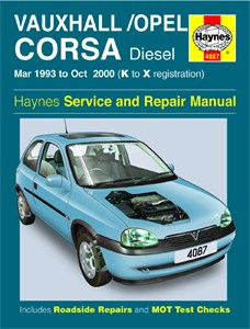 Haynes Reparationshandbok, Vauxhall/Opel Corsa Diesel