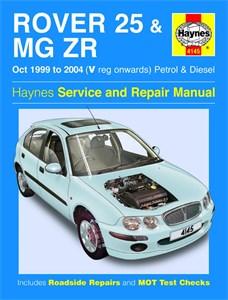 Haynes Reparationshandbok, Rover 25 & MG ZR Petrol & Diesel