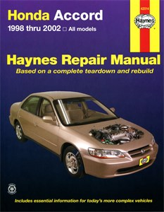 Haynes Reparationshandbok, Honda Accord